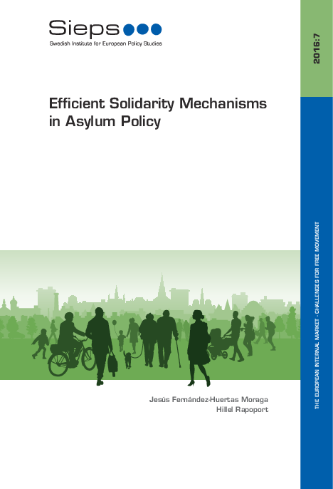 Efficient Solidarity Mechanisms in Asylum Policy (2016:7)