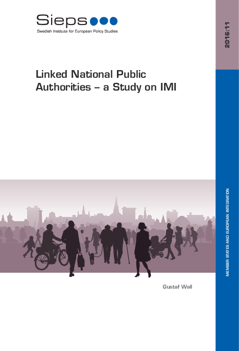 Linked National Public Authorities – a Study on IMI (2016:11)