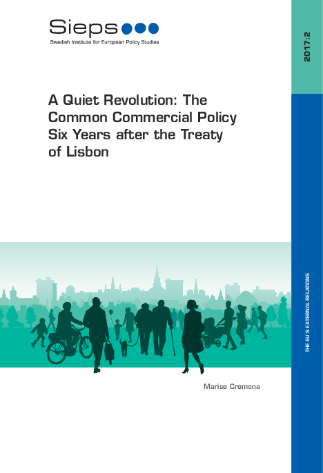 A Quiet Revolution: The Common Commercial Policy Six Years after the Treaty of Lisbon (2017:2)