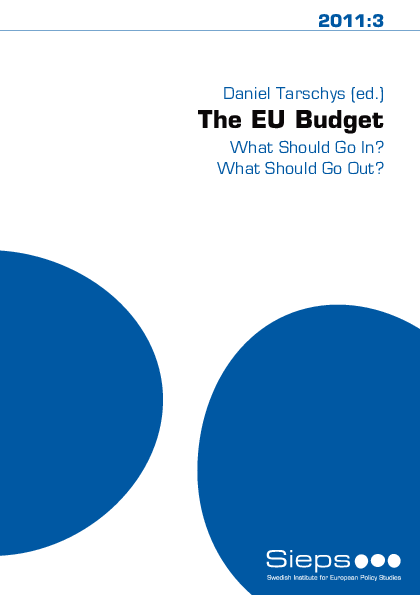 The EU Budget – What Should Go In? What Should Go Out?