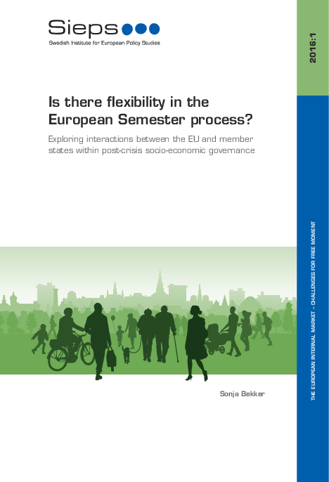 Is there flexibility in the European Semester process? (2016:1)